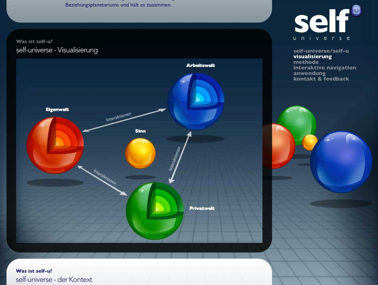 Referenz self-u Website Screenshoot