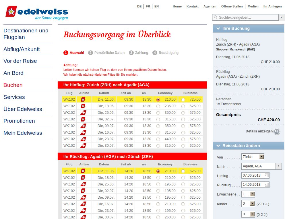 Redesign von Webauftritt und Booking Engine am Live-System, Online Retargeting Integration. - 1